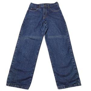 Men's Guide Gear Flannel Lined Jeans Sz 30/30